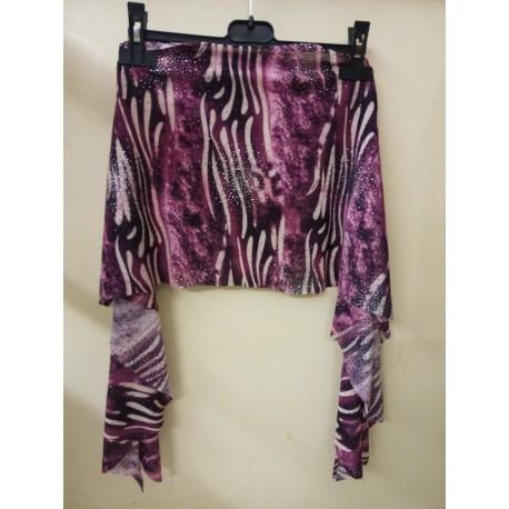 super popular c8396 8a84c Tribalino viola - Il Bazar di Nadira - Abbigliamento e accessori di Danza  del Ventre
