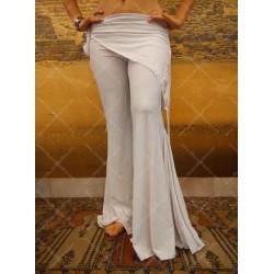 Pantalone fusion bianco
