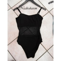 Body panciavelo nero